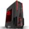长城 星际战舰 M-10 游戏电脑机箱黑色 (水冷/独立风道/分体式/侧透/背线/SSD/顶置USB3.0)产品图片1