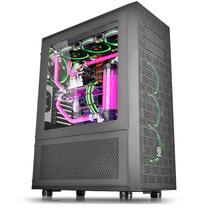 Thermaltake Core X71 水冷游戏机箱 (双层设计/大侧透/双14cm风扇/支持480水排)产品图片主图