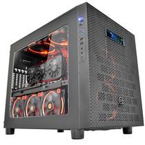Thermaltake Core X5 游戏水冷机箱(大侧透/可堆叠/模组化/双12cm风扇/支持360水排)产品图片主图