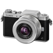 松下 Lumix DMC-GF8 微型单电单镜套机 银色 手动变焦版 美颜自拍利器(12-32mm  DMC-GF8KGK-S)