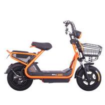 爱玛 铅酸电动车 极酷系列 极酷MC TDT449Z 48V 20A时尚代步滑板车 珠光橙/亚黑/黑产品图片主图