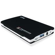 飚王 SHE072 黑鹰 2.5英寸 USB3.0移动硬盘盒 sata接口 支持SSD 支持笔记本硬盘 黑色