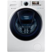 三星 WW12K8412OW/SC 12公斤 安心添  泡泡净技术 超薄大容量 智能变频滚筒洗衣机 白色
