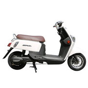 新日 电动车 酷奇 电动自行车电摩60V酷车电动滑板车电动车摩托车 天能电池60V踏板车 白色-都市乐享版