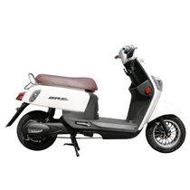 新日 电动车 酷奇 电动自行车电摩60V酷车电动滑板车电动车摩托车 天能电池60V踏板车 白色-都市乐享版产品图片主图