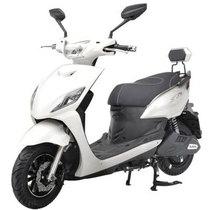 新日 电动车 怪兽 电动车自行车 电动车摩托车 60V电池 电瓶车 皎月白产品图片主图