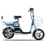 新日 电动车自行车 电动自行车48V电瓶车电动滑板车电单车 灵动plus系列 彩金兰