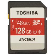 东芝 128G SDXC存储卡Class10-48MB/s高速升级 红色产品图片主图