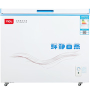 TCL BD/BC-211SQD 211升 冷藏冷冻卧式变温柜 节能静音(白色)