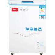 TCL BD/BC-102SQD 102升 冷藏冷冻卧式变温柜 节能静音(白色)