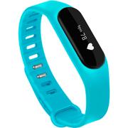 全程通 H6 智能心率手环 光感触控防水 蓝牙运动手表 男女健康手环 微信QQ提醒 小米华为苹果手机通用 蓝色