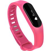 全程通 H6 智能心率手环 光感触控防水 蓝牙运动手表 男女健康手环 微信QQ提醒 小米华为苹果手机通用 粉色