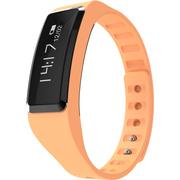 全程通 QCT-W2 智能手环 智能腕带 计步器 来电提醒 微信提示 触控屏幕 运动健康手环 橙色