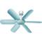 奥克斯 FC-16A1 电风扇/六叶小吊扇/蚊帐扇/宿舍吊扇产品图片3