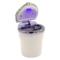 趣行 汽车自驾杂物盒 安全阻燃烟灰缸 车载LED带灯汽车烟缸 白色产品图片1