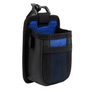 趣行 汽车用多功能手机袋 车载出风口置物收纳储物挂袋 蓝黑色