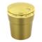 趣行 汽车自驾杂物盒 安全阻燃烟灰缸 车载LED带灯汽车烟缸 金色产品图片2