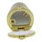 趣行 汽车自驾杂物盒 安全阻燃烟灰缸 车载LED带灯汽车烟缸 金色产品图片3