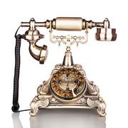 渴望(crave) F015/海洋之星 仿古电话机 复古固话座机 家用欧式 旋转拨号盘