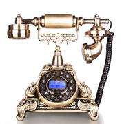 渴望(crave) F015/海洋之星 仿古电话机 复古固定座机 欧式电话 青古铜高级