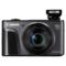 佳能 PowerShot SX720 HS  数码相机(2030万像素 40倍光变 24mm超广角)黑色产品图片1
