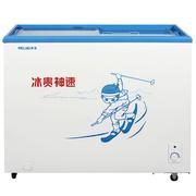 美菱 SC/SD-229GT 229升 商用卧式展示柜 玻璃推拉门 冷藏冷冻转换柜