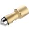 RND 车载充电器 点烟器一拖二 双USB车充 C01香槟金产品图片3