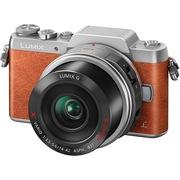 松下 Lumix DMC-GF8 微型单电单镜套机 橘黄色 电动变焦版 美颜自拍利器(14-42mm DMC-GF8XGK-D)