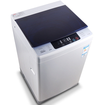 TCL XQB80-F102P 8公斤 全自动波轮洗衣机 喷淋净洗(深海蓝)产品图片主图