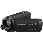 松下 HC-V380GK-K 高清数码摄像机 黑色 (90倍智能变焦 无线多摄像头 5轴防抖 水平纠正功能)