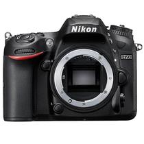 尼康 D7200 APS-C画幅单反相机 单机身产品图片主图