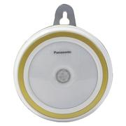 松下 HH-LT0209 LED 光/人体感应灯 起夜灯 小夜灯金色装饰环  暖光色0.5W