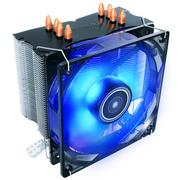 安钛克 铜虎C400 CPU散热器 (LED内发光/PWM智能温控/纯铜底座/纯铜4热管)