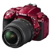 尼康  D5300 单反套机(AF-S DX 18-55mm f/3.5-5.6G VR尼克尔镜头)红色