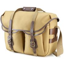 白金汉 Hadley  Large Pro经典系列 单肩摄影包 二机三镜(卡其色/巧克力皮 尼龙款)产品图片主图