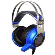 西伯利亚  v2 震动版 炫酷冷光 电竞游戏耳机