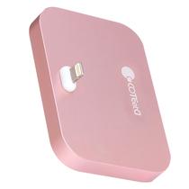 哥特斯 iPhone充电底座 充电器 手机支架 适用于苹果 iPhone se/5/5c/5s/6s/6plus Base 8 玫瑰金产品图片主图