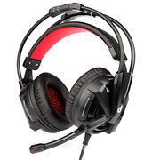 第一印象 G901头戴式耳麦7.1声效震动游戏耳机 带线控  黑色