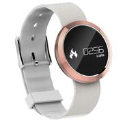Fitband F4智能手环运动心率监测运动计步心率睡眠监测来电提醒玫瑰金