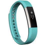 Fitbit Alta 智能健身手环 自动睡眠记录 来电显示 运动蓝牙手表计步器 经典款 蓝青色 大号