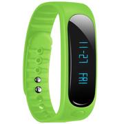 天诺思 E02 智能蓝牙手环运动手环计步器 健康监测 绿色