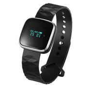天诺思 X6 智能手环运动手环计步器智能手环男女 睡眠 监测 方款银色 通用加强版 苹果安卓均使用