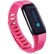 乐心 Mambo HR 智能心率手环 心率屏显实时监测 来电震动显示 运动蓝牙手环计步器(玫红色)