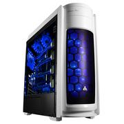 金河田 竞技大师G2W 宽体大侧透机箱 (原生U3/全兼容SSD/兼容全尺寸主板/支持360MM长显卡)