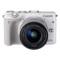 佳能 EOS M3(EF-M 15-45mm f/3.5-6.3 IS STM) 微型单电套机 白色 轻便 小巧 广角产品图片2