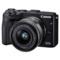 佳能 EOS M3(EF-M 15-45mm f/3.5-6.3 IS STM) 微型单电套机 黑色 轻便 小巧 广角产品图片1