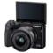 佳能 EOS M3(EF-M 15-45mm f/3.5-6.3 IS STM) 微型单电套机 黑色 轻便 小巧 广角产品图片2