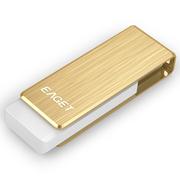 忆捷 F50S 256G USB3.0高速U盘 金色读取高达300MB/S写入高达210MB/S
