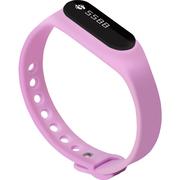 全程通 H5 智能手环 智能腕带 计步器 来电提醒 微信提示 触控屏幕 运动健康手环 紫色