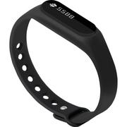 全程通 H5 智能手环 智能腕带 计步器 来电提醒 微信提示 触控屏幕 运动健康手环 黑色